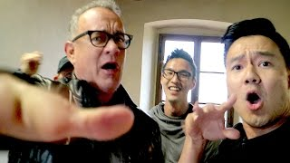 Rapping with Tom Hanks! by : Wong Fu Productions