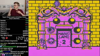 (26:25.583) Super Mario Land 2 any% glitchless *World Record*