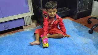 anmol k videos anmol new remote car vs new bus toys review kids video story in hindi