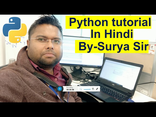 #2 Python Tutorial for Beginners Hindi | What,Where,Features,Flavors,Limitations of Python