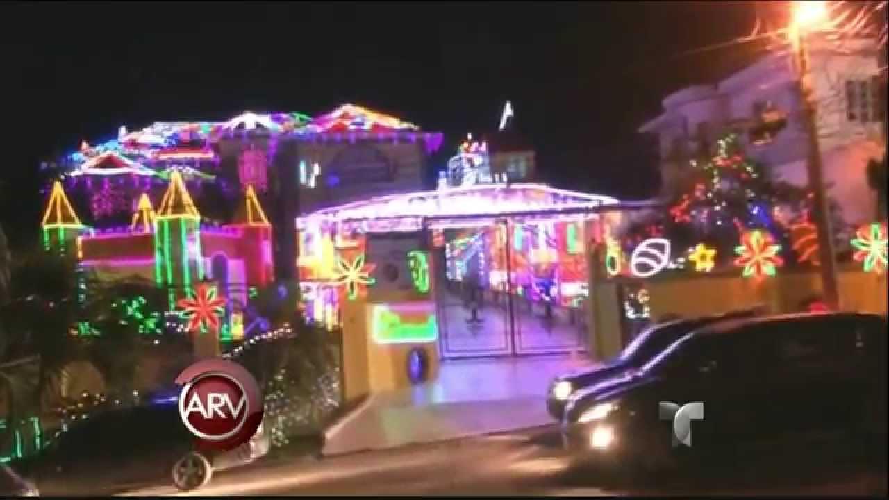 La casa mas iluminada de honduras navidad youtube - La casa de la navidad ...