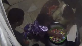 Dad Steals Halloween Candy In Front Of His Kids | What