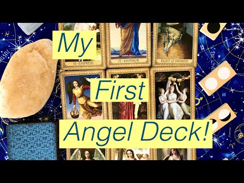 Unboxing And First Impressions: Influence Of The Angels Tarot!