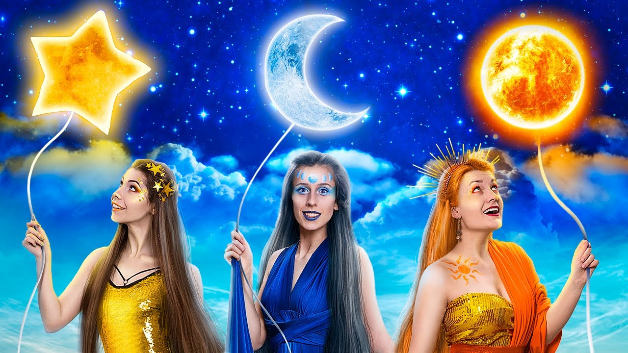 Девушка Луна, девушка Солнце и девушка Звезда! 10 смешных пранков