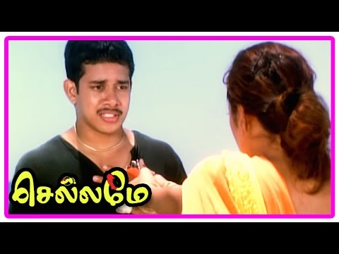 Chellame movie scenes | Vishal comes to rescue Reema Sen | Bharath attacks Vishal