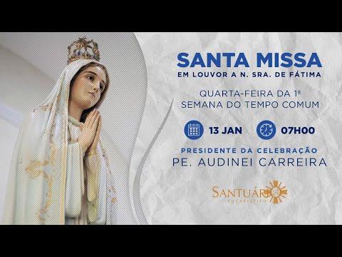 Santa Missa - 13/01/2021 - 7h - Pe. Audinei