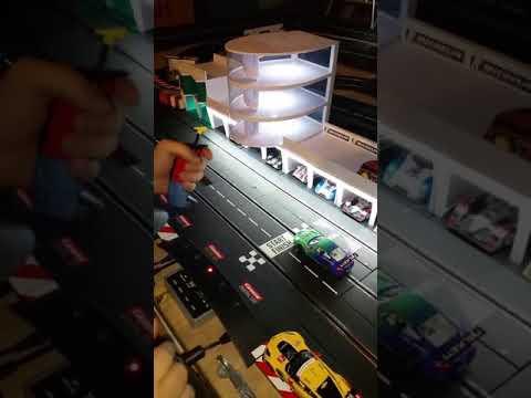 Carrera slot cars how to program a autonomous or ghost car