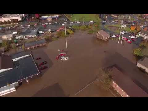 Boone, North Carolina, Neighborhoods Under Water After Flash Flooding