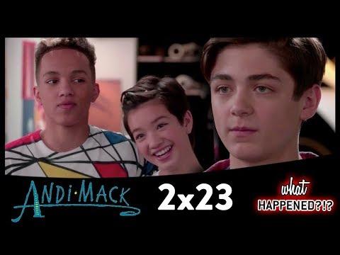 ANDI MACK 2x23 Recap: Walker & Jonah Meet and Buffy's Crush? | 2x24 Promo
