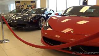 Ferraris at Foreign Cars Italia