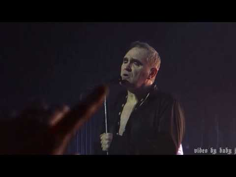 Morrissey-EVERYDAY IS LIKE SUNDAY-Live @ The Palladium, London, UK, March 10, 2018-The Smiths