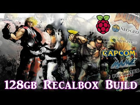 10,000 Games Running On The Raspberry Pi 3 B Plus RecalBox