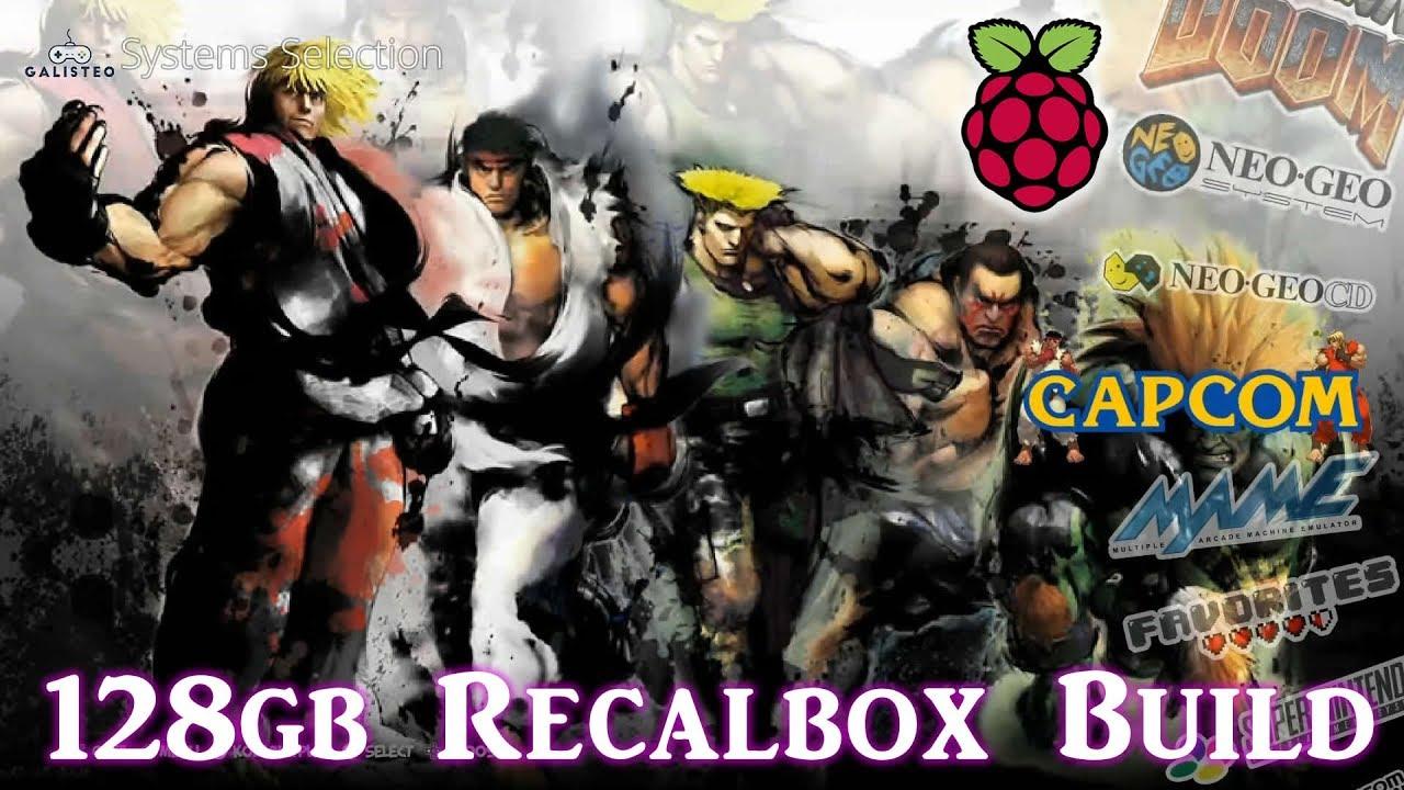 10 000 Games Running On The Raspberry Pi 3 B Plus Recalbox Youtube