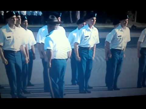 1st Battalion, 50th Infantry,  2nd Platoon - Marching demonstration at Ft. Benning, GA.