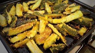 Zucchine croccanti al forno: ricetta light