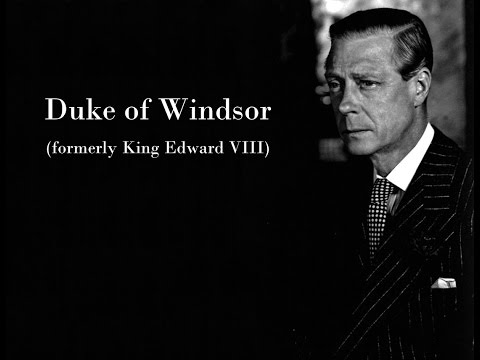 Edward VIII on his Royal predecessors and successors - 1970