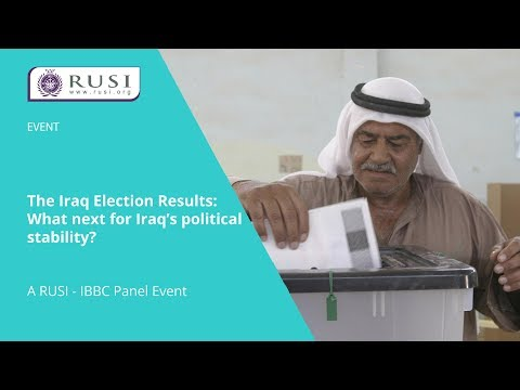 The Iraq Election Results: What next for Iraq's political stability?
