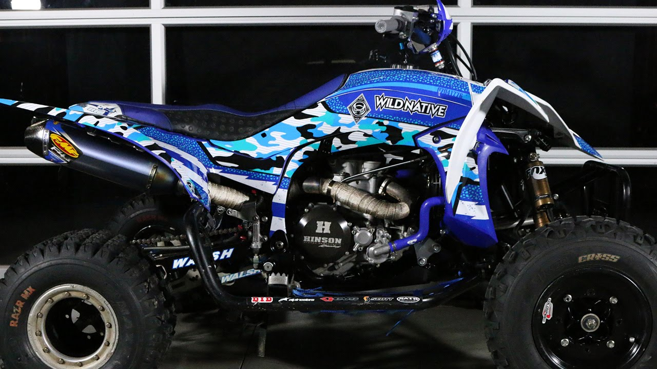 Wild Native Infantry Series Graphics For Yamaha Yfz450r