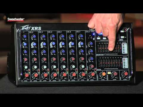 Peavey XR Series Powered Mixers Overview by Sweetwater Sound from YouTube · Duration:  3 minutes 3 seconds