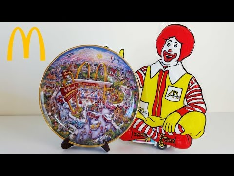 McDonalds Collector Plates - Franklin Mint