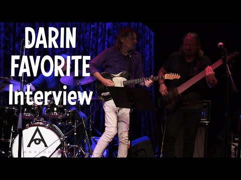Darin Favorite Interview - Producer, Session & Touring Guitarist - Everyone Loves Guitar