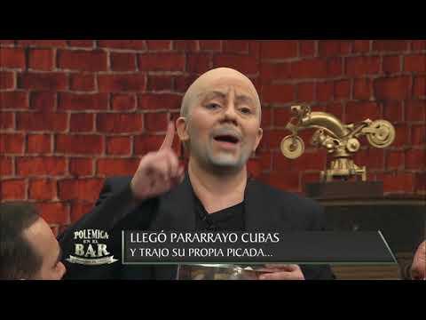 Pararrayo Cubas y Kelembú desconciertan a todos en el bar