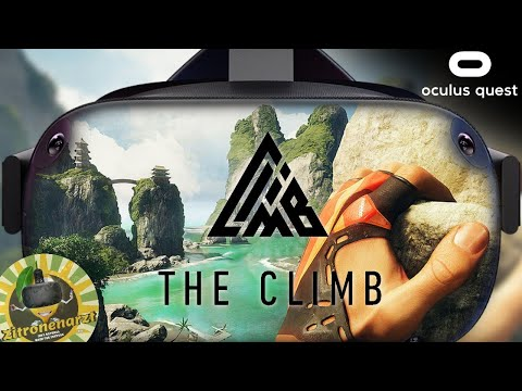 The Climb - Oculus Quest Gameplay / review
