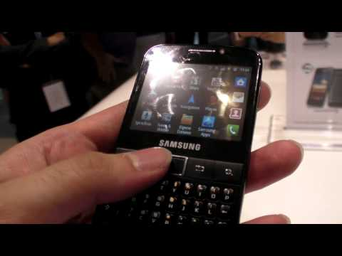 Samsung Galaxy Y Pro, Samsung's cheapest qwerty Android phone