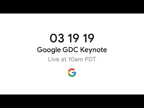 Here's how to watch the Google GDC keynote event live on March 19