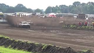 NK Autocross Oldebroek crash Ton van Leeuwen 15-06-2019