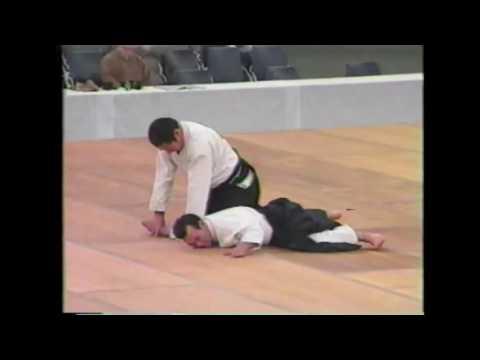 Katsuyuki Kondo, Daito-ryu expert: A one man wrecking crew!