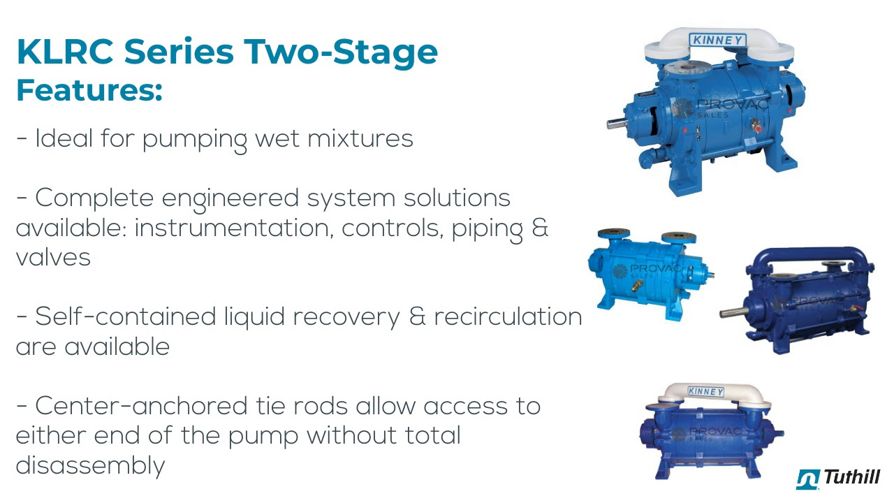 Tuthill Liquid Ring Vacuum Pumps - Features - Benefits - Troubleshooting