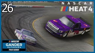 (Truck Owner Debut!) NASCAR Heat 4 Career Mode Part #26