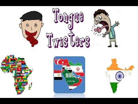 Thumbnail: Tongue Twisters with Foreigners