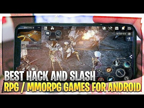 Top 10 BEST Hack And Slash RPG And MMORPG Games For Android / IOS 2018 - High Graphics  [ NEW ! ]