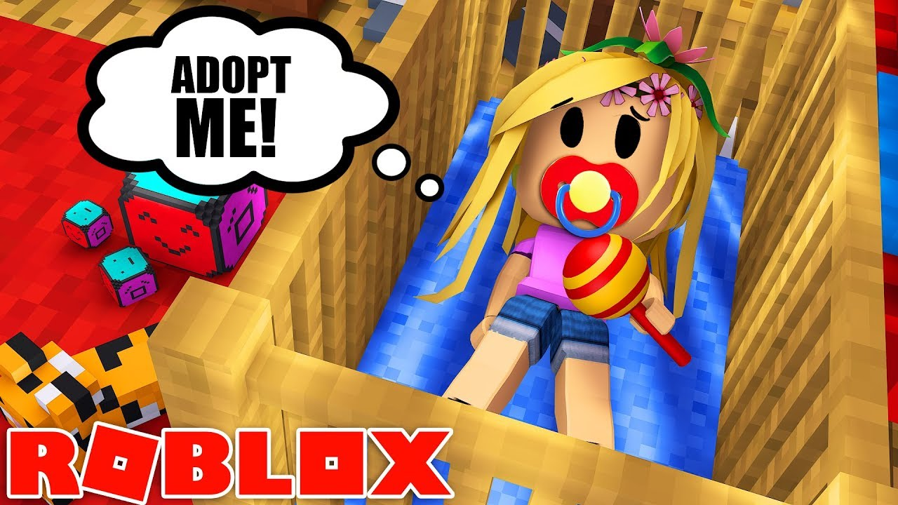 Little Kelly Gets Adopted Roblox W Sharky Youtube