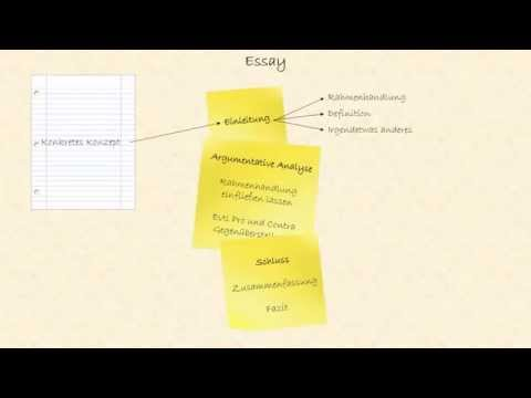 How to - Essay | Abiturvorbereitung von YouTube · HD · Dauer:  4 Minuten 58 Sekunden  · 21.000+ Aufrufe · hochgeladen am 14.02.2015 · hochgeladen von demoniqueShadow