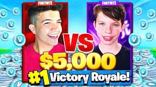 1V1 vs MY LITTLE BROTHER CHALLENGE in FORTNITE: BATTLE ROYALE!