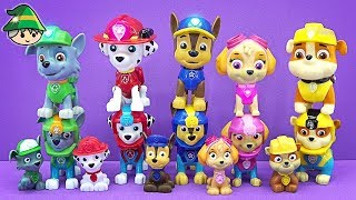 Paw Patrol toy video. Paw Patrol toys collection.