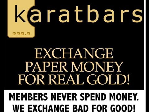 Why Exchange Paper Currency For Gold? Karabars Presentation In Chicago