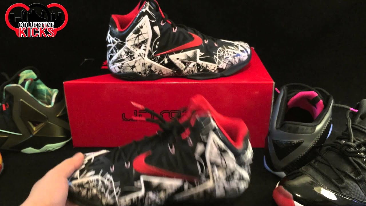 Nike Lebron 11 XI Graffiti Review: Does Nike ID Take Away From The Sneaker  Release?