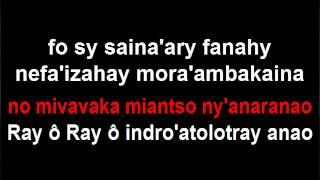 Karaoke gasy: Tselatra - Rainay o