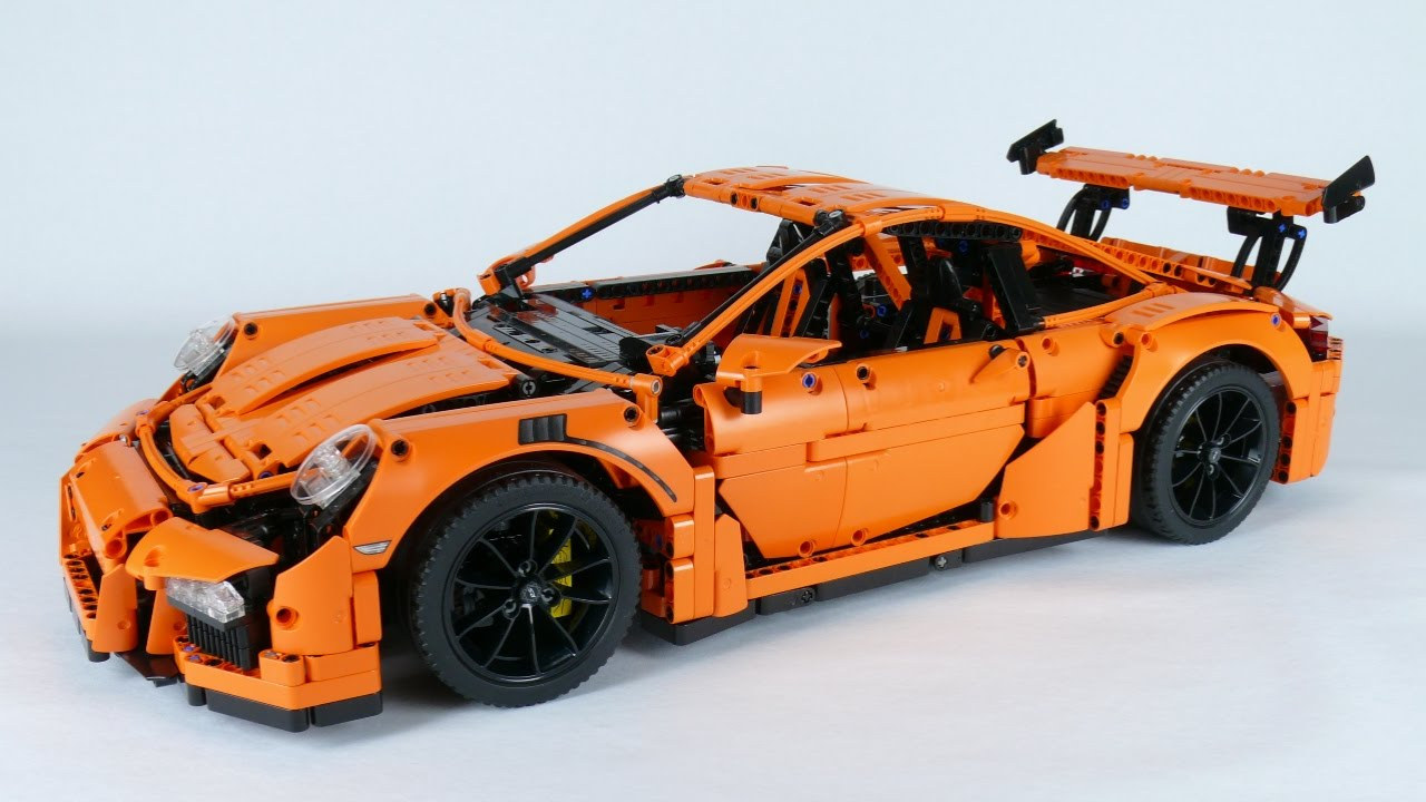 lego technic 42056 porsche 911 gt3 rs modified youtube. Black Bedroom Furniture Sets. Home Design Ideas