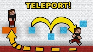 AUTOMATYCZNY TELEPORT NA PARKOURZE! - Minecraft: Oceniam was! #62