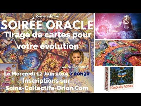 2ème Soirée Oracle - Tirage et interprétation de cartes pour votre évolution le 12/06/2019 à 20h30