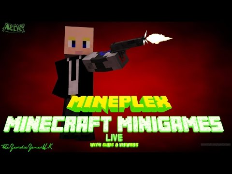 Minecraft MiniGames Mineplex MPS Hangout come join us! #30