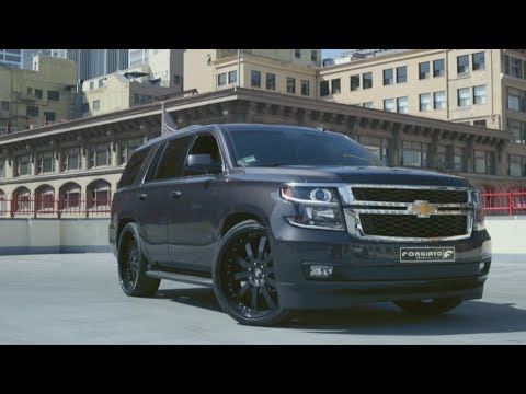 FORGIATO | 2015 CHEVROLET TAHOE | Los Angeles - YouTube