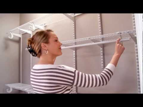 ClosetMaid ShelfTrack Installation Video