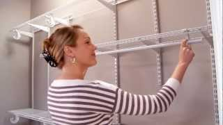 Closetmaid Shelftrack Installation Video