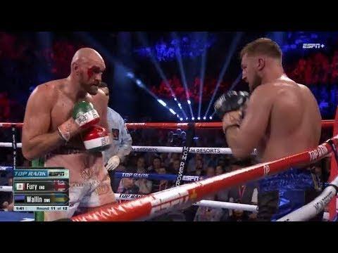 Tyson Fury vs. Otto Wallin / Тайсон Фьюри - Отто Валлин